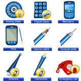 Phone icons 5 Stock Photos
