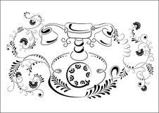 Phone illustration Royalty Free Stock Image