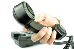 Phone. Incoming phone call. I pass a call for you Royalty Free Stock Image
