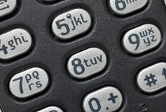 Phone keyboard Stock Images