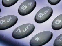 Phone keyboard Stock Photos