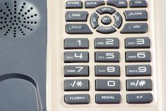 Phone keypad Royalty Free Stock Images