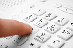 Phone keypad Stock Photo