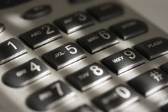 Phone Keypad Stock Image
