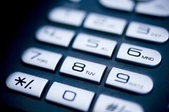Phone keypad Royalty Free Stock Image