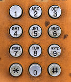 Phone keypad Stock Photos