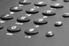 Phone keypad detail Royalty Free Stock Photography