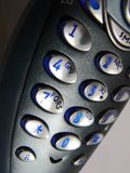 Phone keys. Close-up royalty free stock photo