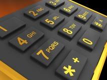 Phone keys Royalty Free Stock Photography