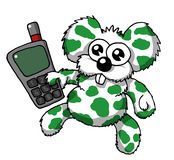 Phone koala Stock Images