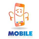 Phone logo Royalty Free Stock Photo