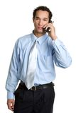Phone Man Stock Photography