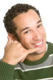 Phone Man Royalty Free Stock Image