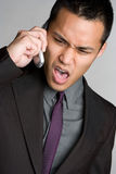 Phone Man Royalty Free Stock Photography