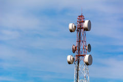 Phone mast signal Stock Photo