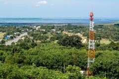 Phone mast signal Royalty Free Stock Photo