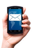 Phone message Royalty Free Stock Images