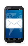 Phone message Royalty Free Stock Image