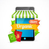 Phone Mobile Store On-line. Vector Stock Images