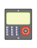 Phone/Mp3 Player. A digital vector illustration of a Phone/Mp3 player stock illustration