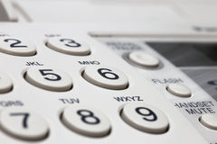 Phone number buttons Royalty Free Stock Images
