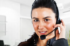 Phone operator Stock Photos