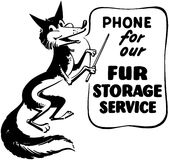 Phone For Our Fur Storage Royalty Free Stock Photos