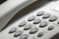 Phone pad. Close up of the phone pad royalty free stock photo