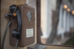 Phone from a past life Stock Photography