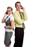 Phone People Royalty Free Stock Photo