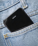 Phone in pocket Stock Images