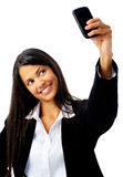 Phone portrait Royalty Free Stock Images