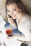 Phone portrait Royalty Free Stock Photos