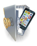 Phone protection concept Stock Photo
