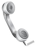 Phone receiver - handset royalty free stock photo