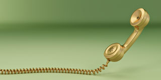 Phone reciever. 3d Royalty Free Stock Images