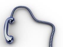 Phone reciver Stock Images