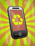 Phone recycling Royalty Free Stock Image
