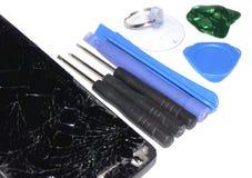 Phone repair Royalty Free Stock Image