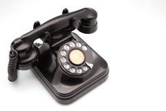 Phone retro. On white fund stock photos