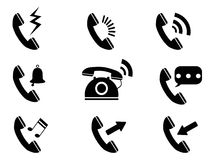 Phone ring icons Stock Photos