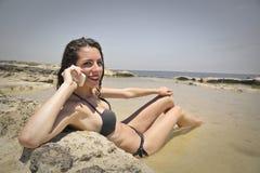 phone samtal arkivfoton