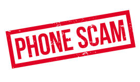 Phone Scam rubber stamp Royalty Free Stock Images