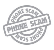 Phone Scam rubber stamp Stock Photography