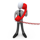 phone service Royaltyfria Foton