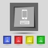 Phone sign icon. Support symbol. Call center. Set Stock Images
