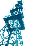 Phone signal tower Royalty Free Stock Photography