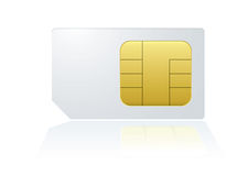 Phone sim Stock Images