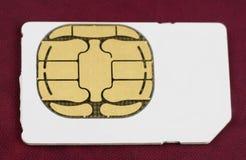 Free Phone Sim Card Isolated Royalty Free Stock Photo - 9062555