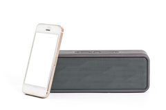 Phone with speaker Royalty Free Stock Photography